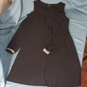 MSK dress size 8 cold shoulder
